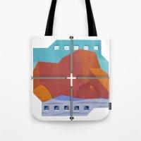 Rancho De Taos Church Tote Bag
