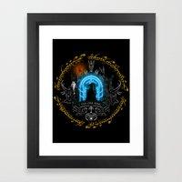 The one ring V3 Framed Art Print