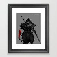 Assassin X Framed Art Print