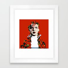 The Prettiest Star Framed Art Print