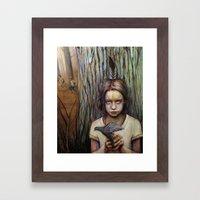 Kierra Framed Art Print