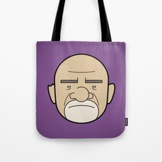 Faces of Breaking Bad: Mike Ehrmantraut Tote Bag