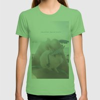 Oliver At The Beach Womens Fitted Tee Grass SMALL