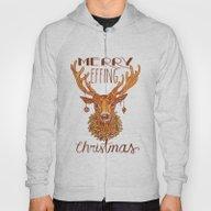 Merry Effing Christmas Hoody