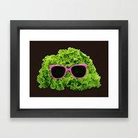 Mr Salad Framed Art Print