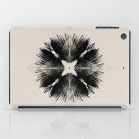Black Flower iPad Case