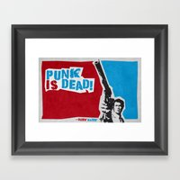 Punky Harry Framed Art Print
