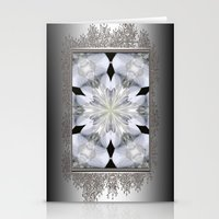 White Arctic Queen Kalei… Stationery Cards