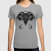 Signs Of The Zodiac - Ar… Womens Fitted Tee Tri-Grey SMALL