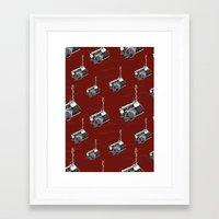 Spidey Camera Framed Art Print