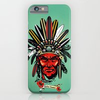 iPhone & iPod Case featuring THE INDIAN SUMMER by kravic