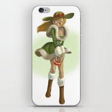 Pin up iPhone & iPod Skin