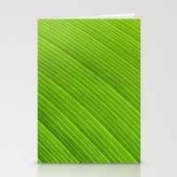 Green 8869 Stationery Cards