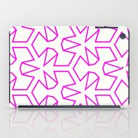 Van Zwaben Pink Neon Pattern iPad Case