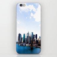 Brooklyn to N.Y. iPhone & iPod Skin