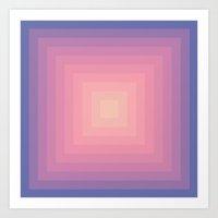 Colour Field v.3 Art Print
