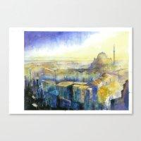 City Walls Canvas Print