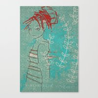 Doll (Vine) Canvas Print