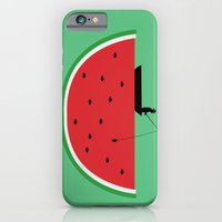 Watermelon Fisher iPhone 6 Slim Case