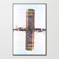 Landscapes c1 (35mm Double Exposure) Canvas Print