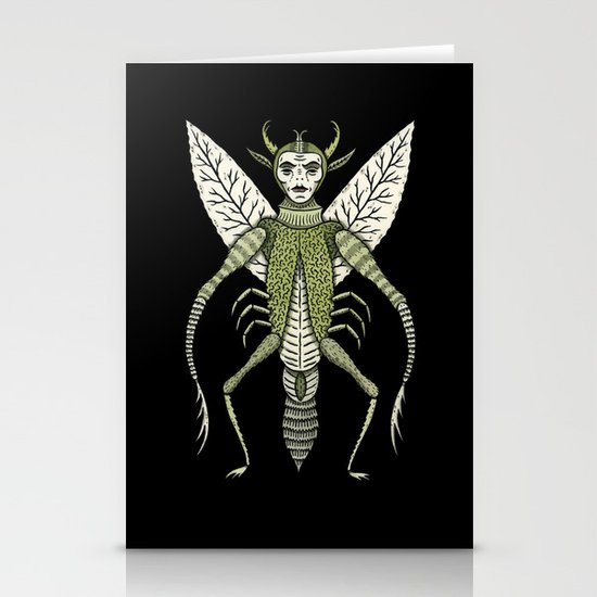 Ten-Legged Creepy Crawly Stationery Card