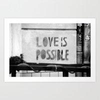 Love Is Possible - Berli… Art Print
