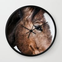 Equine Trance Wall Clock
