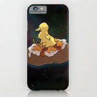iPhone & iPod Case featuring Space Duck by FindChaos
