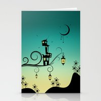 Good Night Little One. Stationery Cards