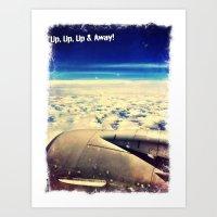 Taking Flight! Art Print