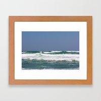 Sea & Sky Framed Art Print