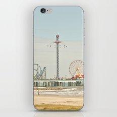 Pleasure Pier Galveston Fun iPhone & iPod Skin