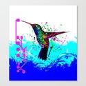 hummingbird Program Canvas Print