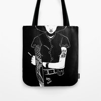 Lit Match Tote Bag