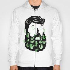 Cactus Beard Dude Hoody