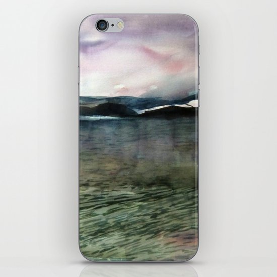 Alaska Sky and Sea iPhone & iPod Skin