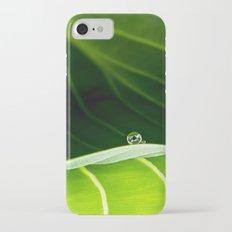 in green iPhone 7 Slim Case