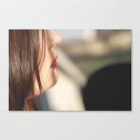 Hard To Tell Canvas Print