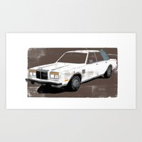 Chrysler New Yorker Art Print