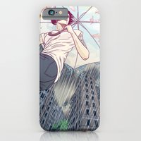 iPhone & iPod Case featuring The sunny side of the street by ElinJ