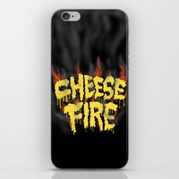 CHEESE FIRE!!! iPhone & iPod Skin