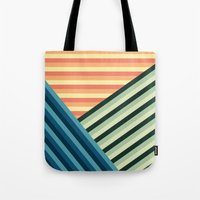 Stripes Are Us Tote Bag
