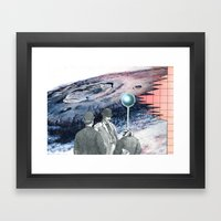 It's OK To Have A Different Opinion Framed Art Print