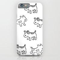 woofwoof dog meeting iPhone 6 Slim Case
