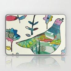 dove in the garden Laptop & iPad Skin