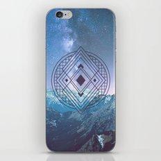 Sacred Geometry Universe 7 iPhone & iPod Skin