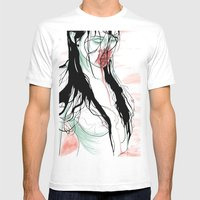 Living Dead Girl Mens Fitted Tee White SMALL