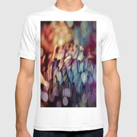 Flowerdream Mens Fitted Tee White SMALL