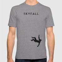 Skyfall Mens Fitted Tee Athletic Grey SMALL