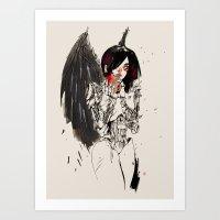 ALITA Art Print